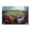 Ole Miss Rebels - Fisheye View of Swayze - College Wall Art #Canvas
