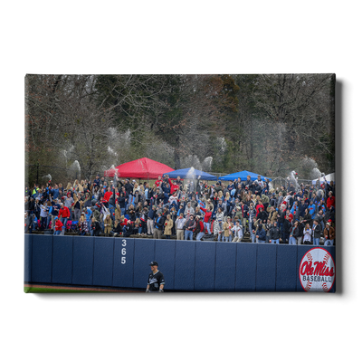 Ole Miss Rebels - Swayze Shower - College Wall Art #Canvas