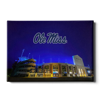 Ole Miss Rebels - Vaught Hemingway Stadium 2020 - College Wall Art #Canvas