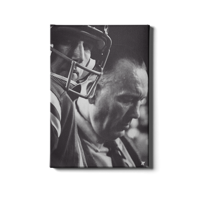 Ole Miss Rebels - Vintage Archie Manning Bruiser Kinard - College Wall Art #Canvas