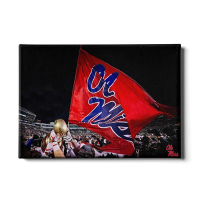 Ole Miss Rebels - Egg Bowl Victory - College Wall Art #Canvas
