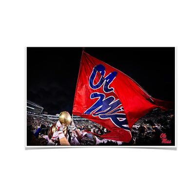 Ole Miss Rebels - Egg Bowl Victory - College Wall Art #Poster