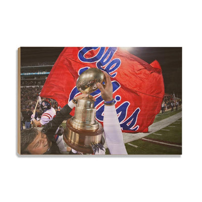 Ole Miss Rebels - Victory Lap - College Wall Art #Wood