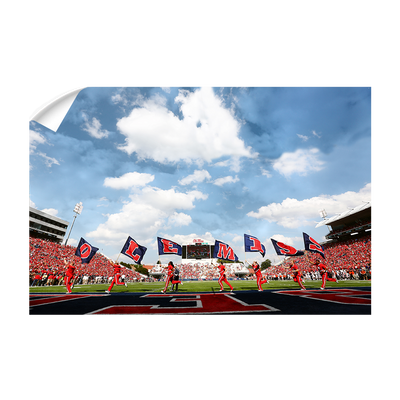 Ole Miss Rebels - O-L-E-M-I-S-S - College Wall Art #Wall Decal