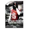Ole Miss Rebels - The Predator - College Wall Art #Wall Decal