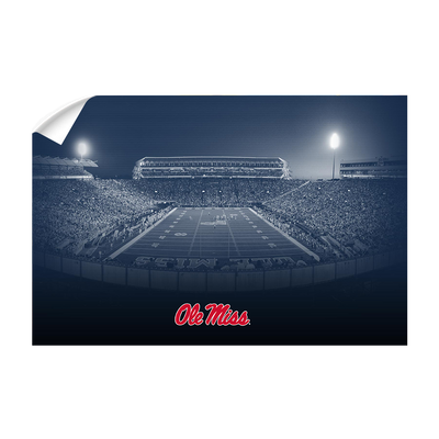 Ole Miss Rebels - Vaught Hemingway Night - College Wall Art #Wall Decal