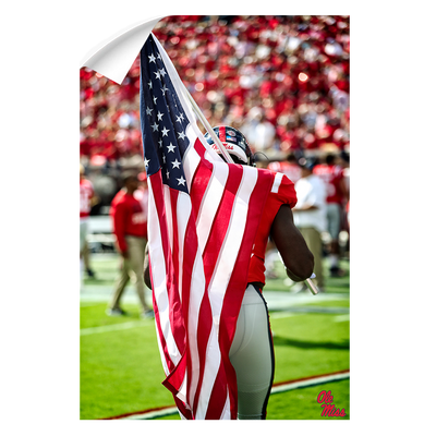 Ole Miss Rebels - Our Flag - College Wall Art #Wall Decal