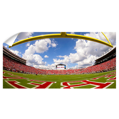 Ole Miss Rebels - Fisheye End zone Panoramic - College Wall Art #Wall Decal