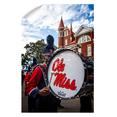 Ole Miss Rebels - Ole Miss Come Marching In - College Wall Art #Wall Decal