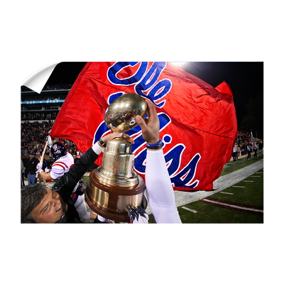 Ole Miss Rebels - Victory Lap - College Wall Art #Wall Decal