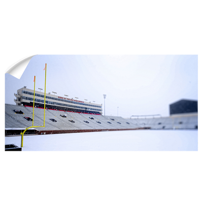 Ole Miss Rebels - Snow Day Vaught Hemingway Pano - College Wall Art #Wall Decal