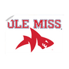 Ole Miss Rebels - Ole Miss Land Shark - College Wall Art #Wall Decal