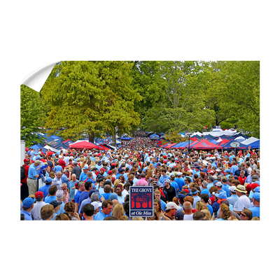 Ole Miss Rebels - Swarm the Grove at Ole Miss#Wall Decal