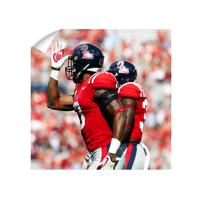 Ole Miss Rebels - Fins Up - College Wall Art #Wall Decal