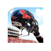 Ole Miss Rebels - Ole Miss Helmet Held High - College Wall Art #Wall Decal