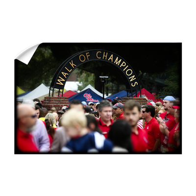 Ole Miss Rebels - Walk of Champions Grove - College Wall Art #Wall Decal