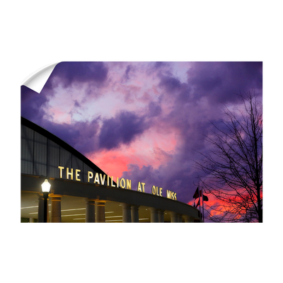 Ole Miss Rebels - The Pavilion at Ole Miss - College Wall Art #Wall Decal
