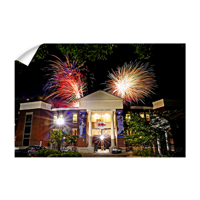 Ole Miss Rebels - Oxford University Stadium Fireworks - College Wall Art #Wall Decal