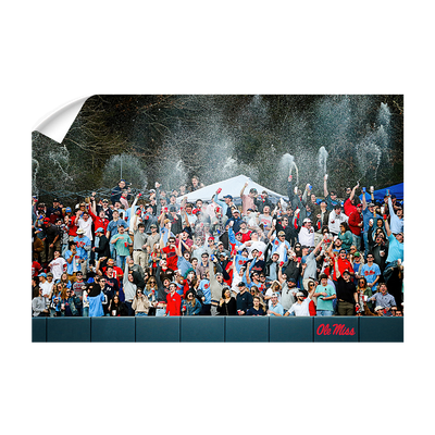 Ole Miss Rebels - The First Swayze Shower of Spring - College Wall Art #Wall Decal
