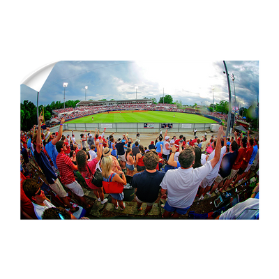 Ole Miss Rebels - Fisheye View of Swayze - College Wall Art #Wall Decal