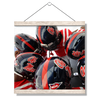 Ole Miss Rebels - Huddle - College Wall Art #Hanging Canvas