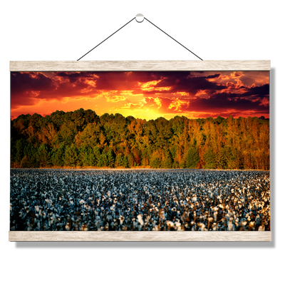 Cotton Field -College Wall Art #Hanging Canvas