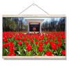 Ole Miss Rebels - Spring Flowers - College Wall Art #Hanging Canvas