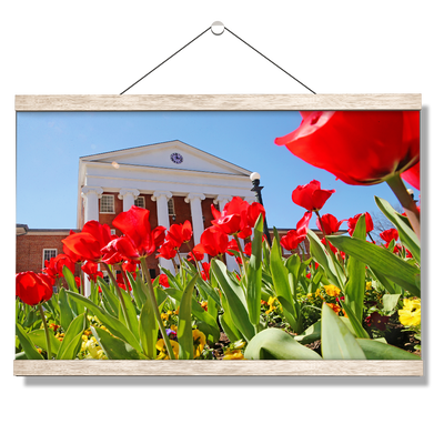 Ole Miss Rebels - Spring Lyceum - College Wall Art #Hanging Canvas