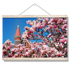 Ole Miss Rebels - Cherry Blossom Ventress - College Wall Art #Hanging Canvas