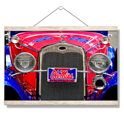 Ole Miss Rebels - Ramblin' Rebel - College Wall Art #Hanging Canvas