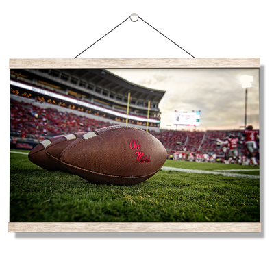 Ole Miss Rebels - Ole Miss Football - College Wall Art #hanging Canvas