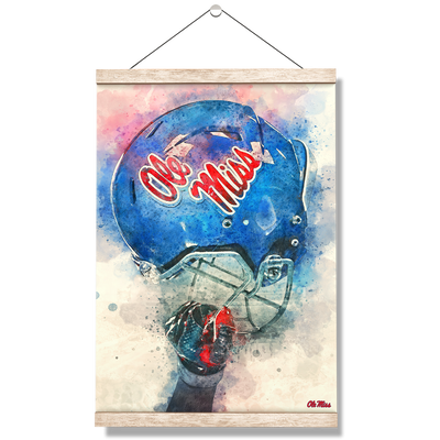 Ole Miss Rebels - Ole Miss Pride - College Wall Art #Hanging Canvas