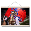 Ole Miss Rebels - Victory Lap - College Wall Art #Hanging Canvas