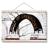 Ole Miss Rebels - Snowy Day Walk of Champions - College Wall Art #Hanging Canvas