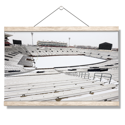 Ole Miss Rebels - Snow Day-Vaught- Hemingway - College Wall Art #Hanging Canvas