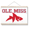 Ole Miss Rebels - Ole Miss Land Shark - College Wall Art #Hanging Canvas