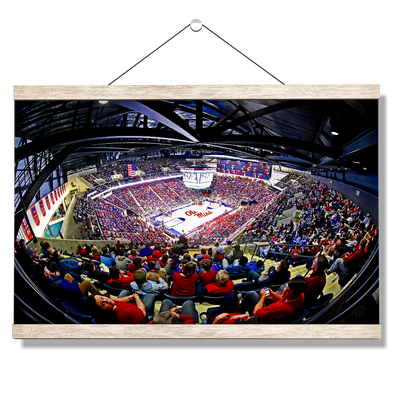 Ole Miss Rebels - Fisheye Pavilion - College Wall Art #Hanging Canvas