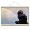 Ole Miss Rebels - Football Rainbow - College Wall Art #Hanging Canvas