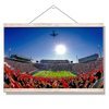 Ole Miss Rebels - Flight Over - College Wall Art #Hanging Canvas