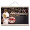 Ole Miss Rebels - Ole Miss Baseball - College Wall Art #Hanging Canvas