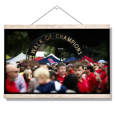 Ole Miss Rebels - Walk of Champions Grove - College Wall Art #Hanging Canvas