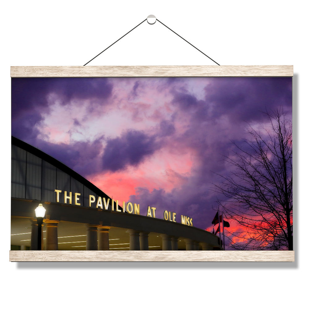 Ole Miss Rebels - The Pavilion at Ole Miss - College Wall Art #Canvas