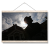 Ole Miss Rebels - Vaught Silhouette - College Wall Art #Hanging Canvas