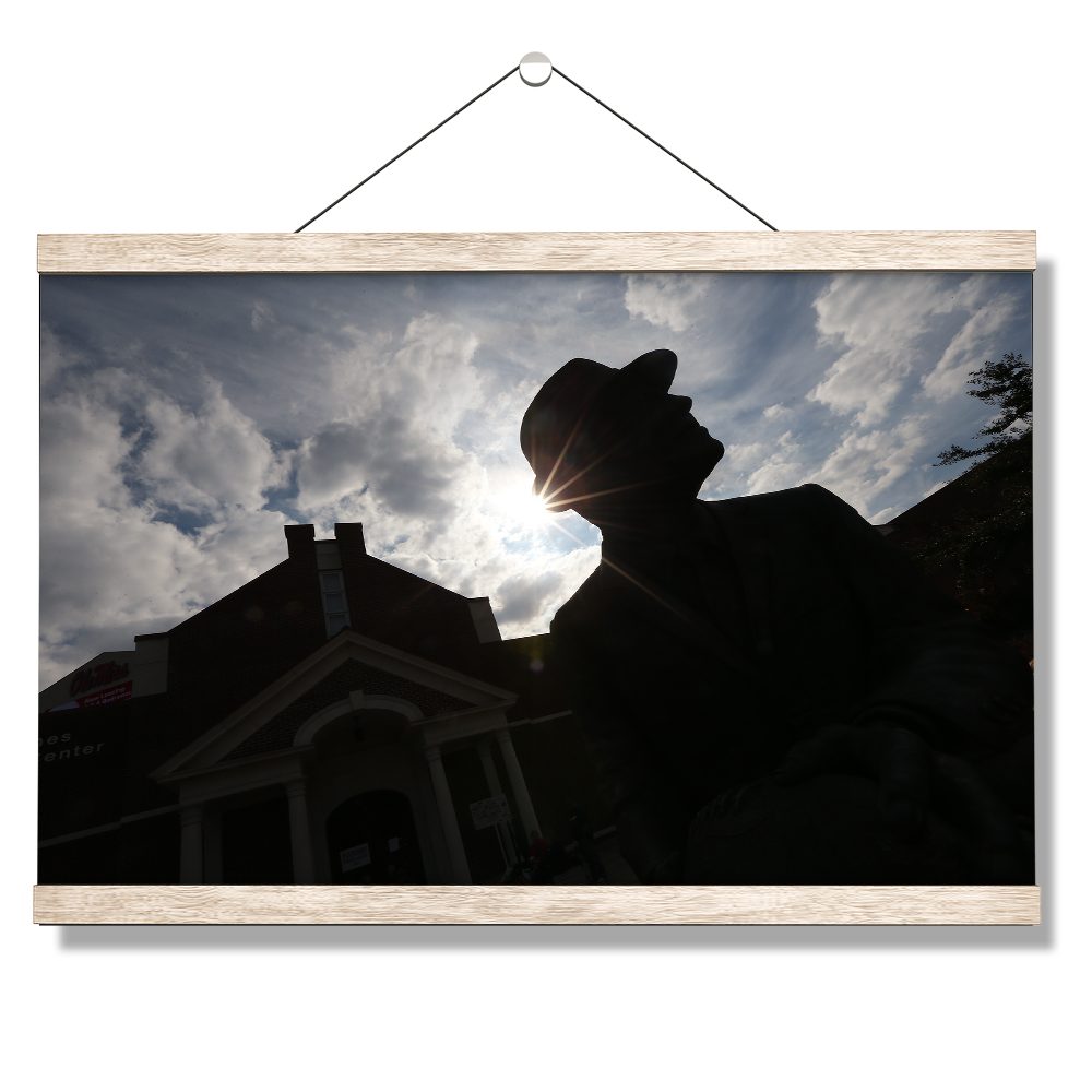 Ole Miss Rebels - Vaught Silhouette - College Wall Art #Canvas