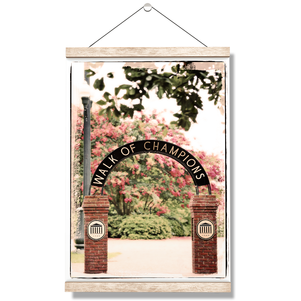 Ole Miss Rebels - Spring Walk of Champions - College Wall Art #Canvas