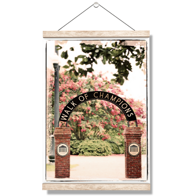 Ole Miss Rebels - Spring Walk of Champions - College Wall Art #Hanging Canvas
