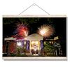 Ole Miss Rebels - Oxford University Stadium Fireworks - College Wall Art #Hanging Canvas