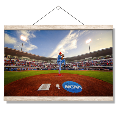 Ole Miss Rebels - NCAA Baseball 2019 - College Wall Art #Hanging Canvas