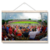 Ole Miss Rebels - Fisheye View of Swayze - College Wall Art #Hanging Canvas