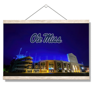 Ole Miss Rebels - Vaught Hemingway Stadium 2020 - College Wall Art #Hanging Canvas